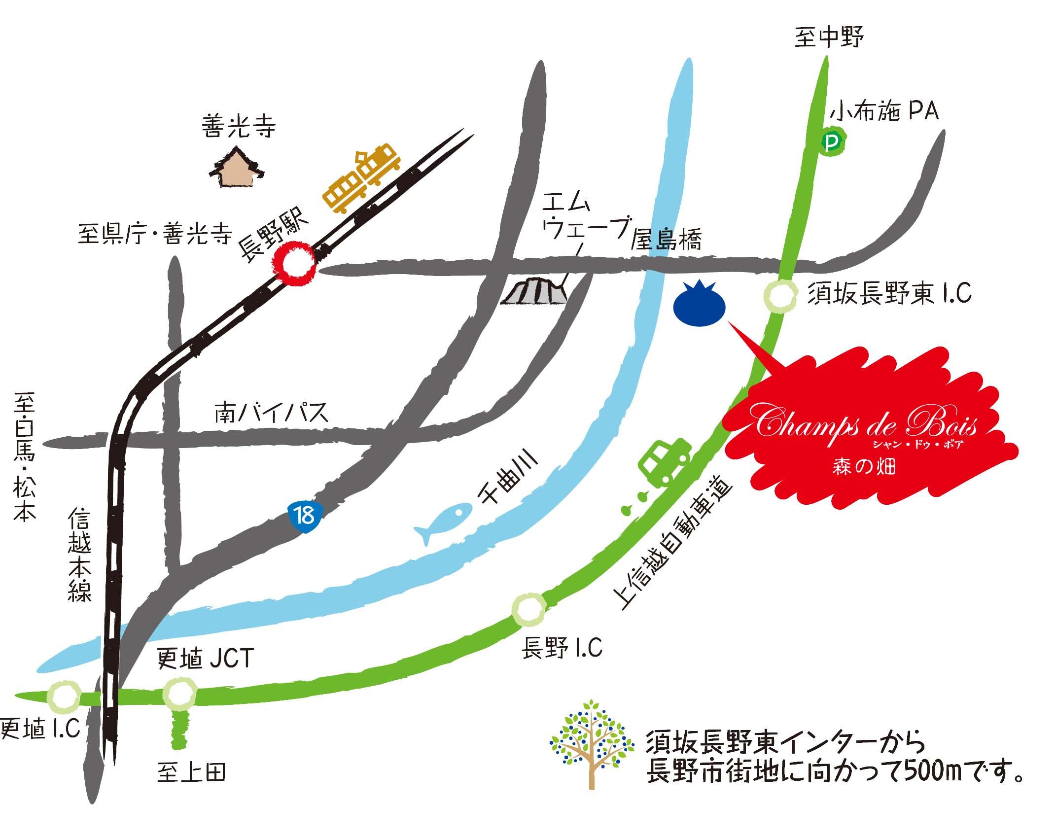 農園マップ